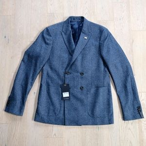 MEN'S DOUBLE BREASTED SCOTCH AND SODA BLAZER